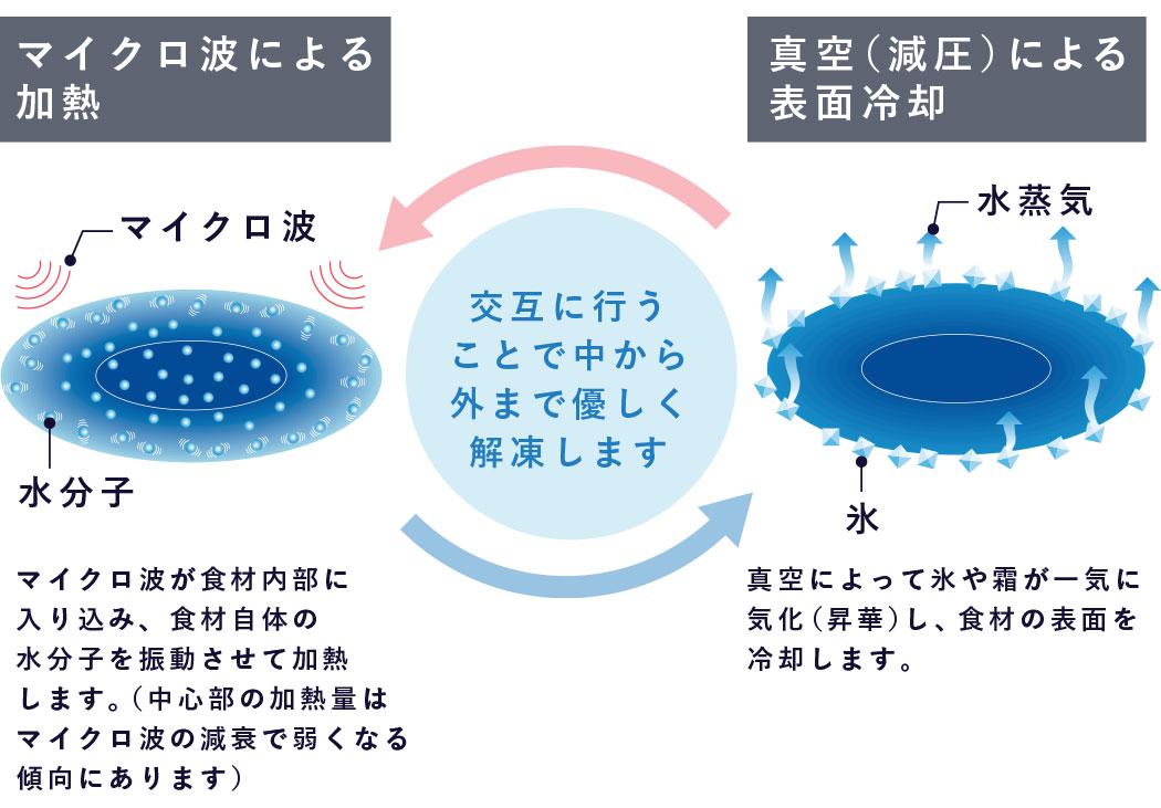 解凍メカニズム説明図